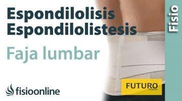 Espondilolisis y espondilolistesis - Ayuda mediante fajas lumbares
