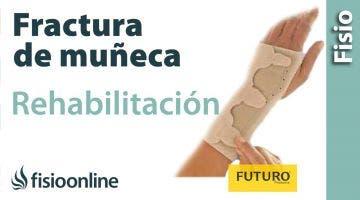Fracturas y fisuras de muñeca - Rehabilitación y ayudas técnicas