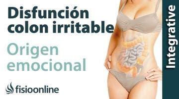 Origen emocional de la disfunción de colon irritable.