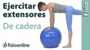 Ejercicio de reprogramación para extensores de cadera y arrastre del iliaco en posterioridad.