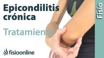 ¿CÓMO tratar las Tendinitis rebeldes o crónicas? Epicondilitis  o codo de tenista.