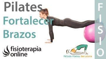 Ejercicios de Pilates para fortalecer tus brazos