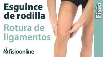 1 Cómo saber si hay un esguince de rodilla o rotura de ligamentos de rodilla