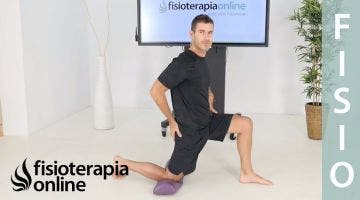 Ejercicio de flexibilidad del psoas para tratar dolores de espalda