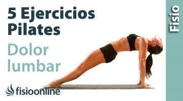 5 ejercicios de Pilates para dolor lumbar