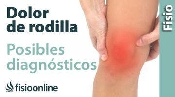 Dolor de rodilla  ¿Qué puede ser?