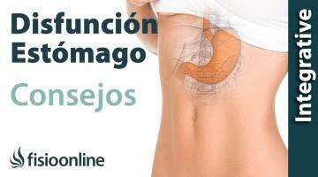 Alimentación, nutrición y consejos dietéticos para la disfunción de estómago.