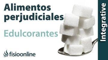 Alimentos perjudiciales para tu espalda: Edulcorantes artificiales.