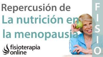 Repercusión que tiene la nutrición en problemas asociados a la menopausia