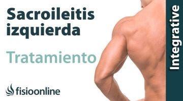 Tratamiento de la sacroileitis izquierda