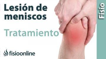 10 Tratamiento de una lesión de menisco