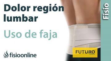 Lumbalgia o lumbago - Ayuda mediante fajas lumbares