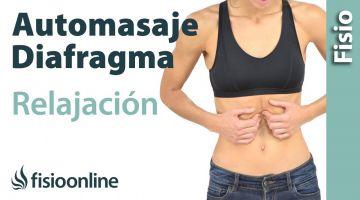 7.Auto-masaje y relajación de rebordes costales y del diafragma
