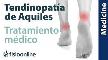 Tratamiento, diagnóstico y prevención de la tendinitis de Aquiles
