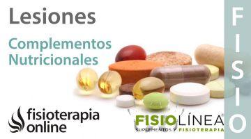 Complementos nutricionales y lesiones musculoesqueléticas