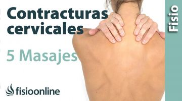 5 Auto masajes para la reducir tension y contracturas cervicales