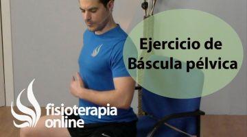 Ejercicio de movilidad para la espalda  Váscula pélvica