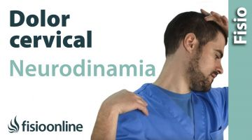 Ejercicio neurodinámico para el dolor cervical.