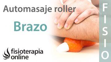 Automasaje de antebrazo y tríceps con Cool Roller