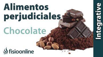 Alimentos perjudiciales para tu espalda: chocolate.