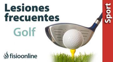 Lesiones del Golf ¿Qué lesiones tienen con más frecuencia los jugadores de Golf?