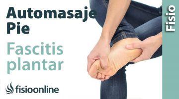 57 .Auto-masaje para la fascia plantar con las manos. (nuevo)