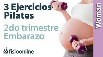 3 ejercicios de Pilates en embarazo segundo trimestre
