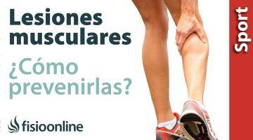 Consejos para prevenir lesiones musculares en el deportista.