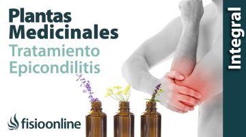 Plantas medicinales y remedios  naturales para la epicondilitis o codo de tenista.