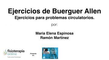 Ejercicios de Buerguer Allen. Ejercicios para problemas circulatorios.