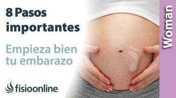 Estoy embarazada ¿y ahora qué? 8 pasos importantes para comenzar tu embarazo con buen pie