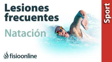 Lesiones más típicas o frecuentes en la natación y nadadores.