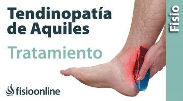Tratamiento para la tendinitis de Aquiles o inflamación del tendon de Aquiles