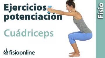 Ejercicios de fortalecimiento o potenciación de cuádriceps (Fase inicial))