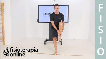 Tercer nivel (nivel avanzado) de ejercicios de equilibrio, coordinación y fuerza de las piernas