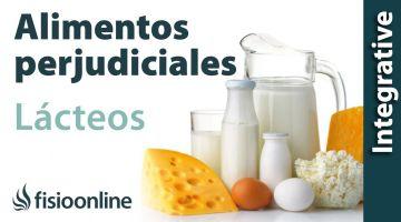 Alimentos perjudiciales para tu espalda - Leche y derivados