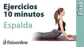 Ejercicios de espalda en 10 minutos