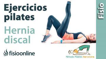 Ejercicios de pilates para la hernia discal