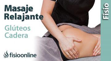 Cómo hacer un masaje relajante de glúteos y cadera