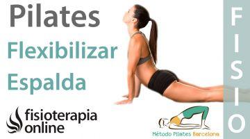 Ejercicios de Pilates para flexibilizar la espalda