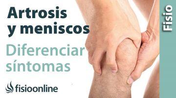 Cómo diferenciar si un dolor de rodilla es por artrosis o por el menisco