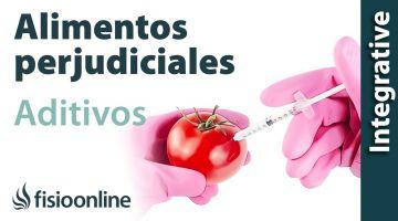 Alimentos perjudiciales para tu espalda: Aditivos alimentarios.
