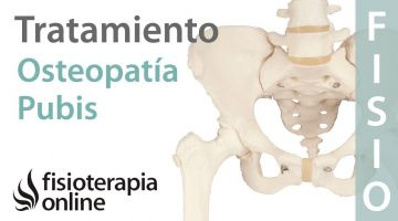 Cómo tratar la Osteopatía de pubis