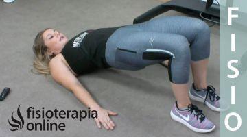Espalda sana - Ejercicio de tonificación básico de puente