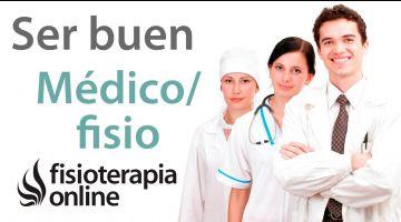 He estado con el Doctor Martínez. ¿Es buen médico, verdad?