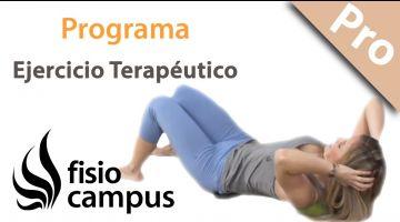 Programas de ejercicio terapéutico para complementar los tratamientos de fisioterapia