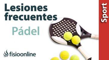 Lesiones más típicas o frecuentes en el Padel