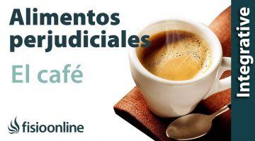 Alimentos perjudiciales para tu espalda: El café.