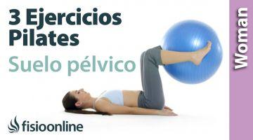 3 ejercicios de Pilates para el suelo pélvico