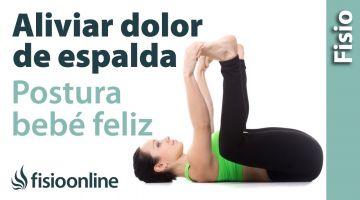 Ejercicio para eliminar el dolor de espalda: bebé feliz